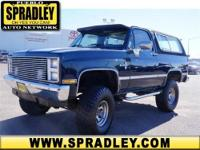 1987 Chevrolet Blazer Our Location is: Spradley Imports