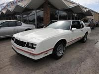 1987 CHEVY MONTE CARLO AERO SS COUPE THIS CAR IS IN