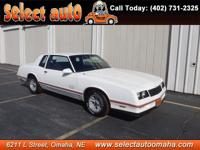 Real nice Monte Carlo SS... Come take a look today !!!
