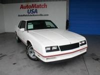 1987 Chevrolet Monte Carlo Coupe Sport SS Our Location