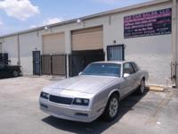 Vehicle description: 1987 Chevy Monte Carlos SS 5.0 V8,
