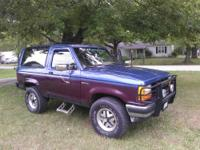 1987 Full Size Ford Bronco XLT 4X4 auto with a 5.0 /