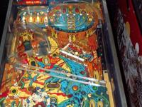- Pinball machine has recently stopped operating - Play