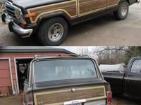 1987 Jeep Grand Wagoneer. Wood Paneled sides. 4X4. Will