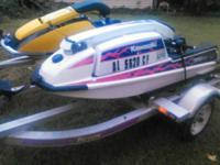 1987 Kawasaki 650sx. This ski is dressed up. Has an
