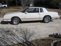 1987 SS MONTE CARLO WITH 32K ORIGINAL MILES.EXCELLENT