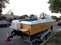 1988 20' Fiber Form Deep V Cuddy Cabin with Ford 302