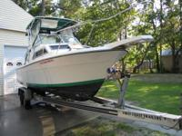 I have a 25 Ft WELLCRAFT walk around, no engine. Has a