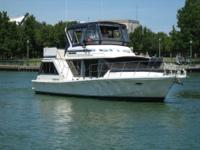 "Paradise Found"" Is a clean 42 Bluewater with an"