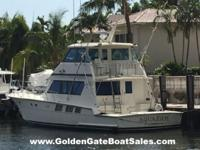 1988, 65 Hatteras 65 Convertible Enclosed Bridge
