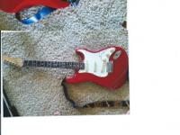 This is a 1988 American made Fender Strato Caster,