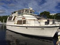The Altantic 47' is a high quality cruising yacht,