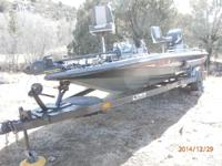 1988 Bass Cat Sabre- Tournament Bass Boat- Beautiful