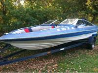1988 18' bayliner speed boat. Had it on water this year