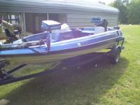1988 bass trophy boat just put new water pump and