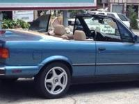 I have a 1988 Convertible 325i BMW, for sale.... $4,000