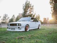 This 1988 BMW E30 M3 with 71,900 original miles, all