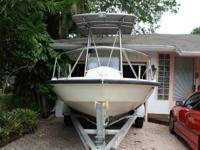 ,,,....BOSTON 18 FT OUTRAGE 150/135 HP MERCURY ALUMINUM