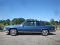 1988 Cadillac Coupe DeVille - Only 1,770 MILES!