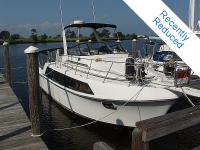 1988 Carver 36 Mariner for sale. Twin 454's. Port has
