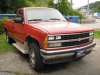 1988 Chevrolet K1500 4x4. Lots of 4 wheel drive go with