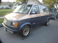 THIS IS A BEAUTIFULL ASTRO VAN, THE PAINT IS SUPER