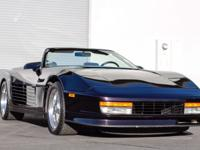 SELLING A VERY RARE CORVETTE CONVERSION. THIS WAS