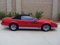 1987 Chevrolet Camaro Iroc Z28 For Sale In Charlotte
