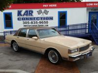 1988 Chevrolet Caprice Brougham, One Owner All
