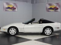 Stk#166 1988 Chevrolet Corvette C4 35th Anniversary