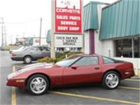100% stock, all original 1998 Corvette Coupe. This