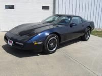 Options Included: 1988 Corvette Coupe, Dark Blue