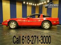Up for grabs is a 1988 Chevrolet Corvette with 64,577
