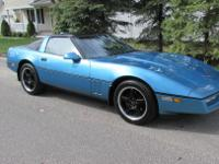 This 1988 Chevrolet Corvette Coupe is Beautiful! It