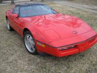 1988 Chevrolet Corvette High Performance This is a
