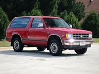 Only 60K miles!! 4WD! Red Hot! Chevrolet has done it