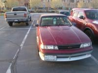 Classic 1988 5 speed, V6 manual transmission Z24 Chevy