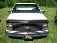 1988 Chevy Cheyenne new tail pipe and exhaust new gas