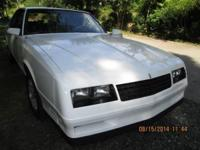 1988 Chevy Monte Carlo for sale (PA) - $10,000. '88