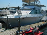 This 1988 has a superbly livable double-cabin cruiser