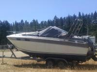 1988 Chriscraft Boat and Shoreland'r trailer for sale -