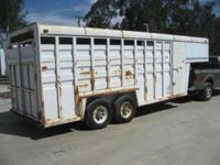 Horse / Livestock Trailers Cattle Trailers. 1988 Circle