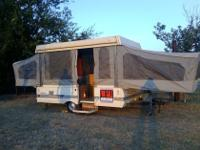 Pop-Up Camper for sale and in good condition. Our