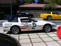 1988 CORVETTE CHALLENGE RACE CAR #2. From 1985 to 1987
