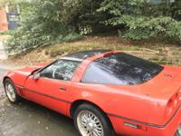 1988 Chevy Corvette for sale. 76K original miles. Needs