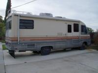 FOR SALE 1988 FLEETWOOD PACE ARROW 27', CLASS A , TWO