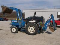 Ford 1920 4 wheel drive compact tractor with loader & &