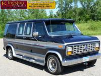 LOW MILES! CLEAN TITLE! Great travel or camping van!