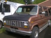 I have for sale a 88' Ford Van Econoline 5.0L V8