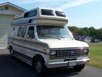 1988 Ford Fiesta Motor Home ... Econoline 150 ...